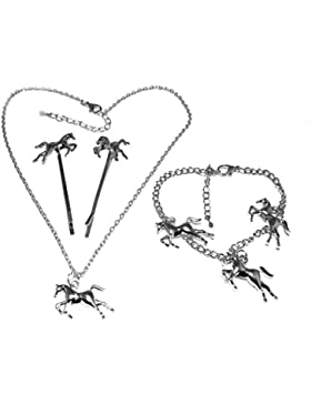 Pferd Versilbert Jewellery SetsS