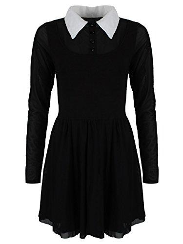 Damen Kleid Heartless Wednesday - Addams Familie Kostüm