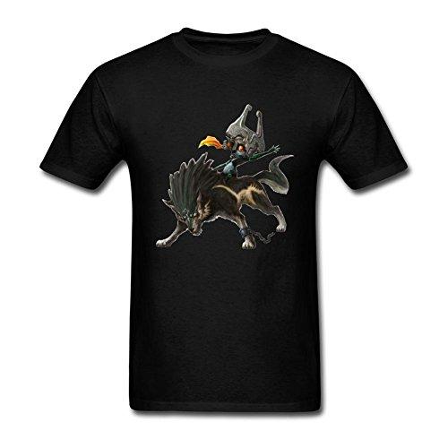 UKC5BD -  T-shirt - Uomo nero Large
