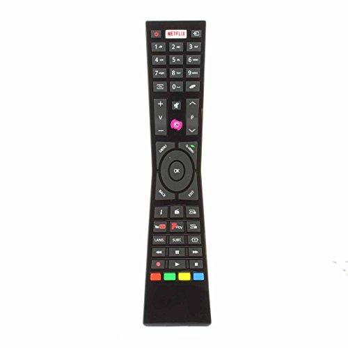 passend für Currys JVC RM-C3231 Smart 4K LED TV mit NETFLIX Youtube Freeview - passend für viele Modelle ()