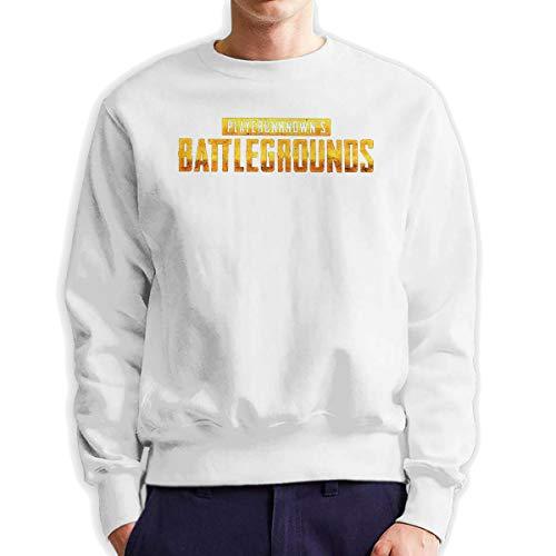MYHL Men's PUBG Battlefield Fashionable Casual Style Crew Neck Cotton Sweatshirt Hoodie