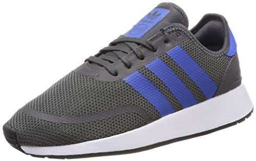 adidas Unisex-Kinder N-5923 J Gymnastikschuhe, Grau (Grey Five/True Blue/Ftwr White), 38 2/3 EU (5.5UK)
