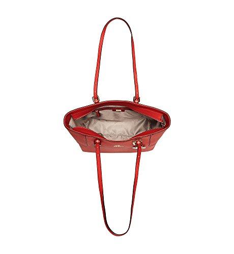 Guess Isabeau, Borsa a Spalla Donna, 14 x 29.5 x 32 cm (W x H x L) Rosso