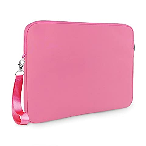Lavievert Soft Neoprene(Water Resistance) Macbook Sleeve Simple and Elegant Laptop Case Notebook Bag Macbook Cover (Easy to Open & Close) for Apple 13'' Macbook Pro with Retina / 13'' Macbook Air / 13'' Macbook Pro and other 13-13.3 inches Laptop / Notebook -