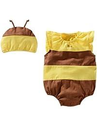 Miyasudy Barboteuse Vêtements Bébé Fille garçons Fleur fruits animale Imprimée Combinaison