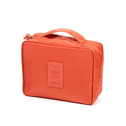 LAZYMARTS Unisex Portable Waterproof Travel Washing Bag Cosmetic Bag Hanging Toiletry Storage Organizer Makeup...