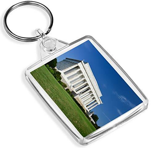 Abraham Lincoln Memorial Schlüsselanhänger Washington DC USA Amerika Schlüsselanhänger Geschenk # 8911 -