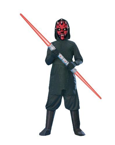 "Star Wars Kids Darth Maul Costume Style 1, Medium, Age 5 - 7, Height 4' 2"" - 4' 6"""