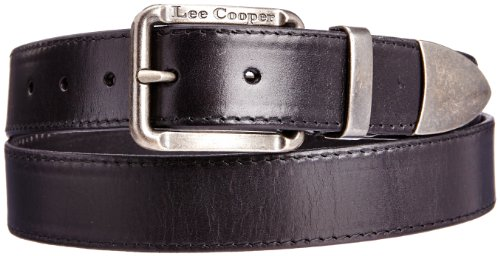 Lee Cooper - Cintura, Uomo, Nero (Schwarz - Noir (Black)), Taglia unica