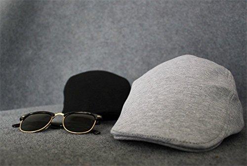 Leisial Sombreros Gorras Boinas con Algodón Ocio Retro Hat Cap Sombrero de Sol  Deporte al Aire Libre Primavera ... b8cdbebd199