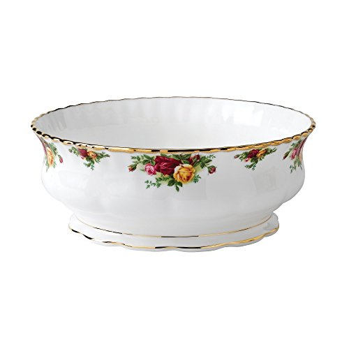 Old Country Roses Salatschüssel, 3,87 l gold Old Country Roses Bone China