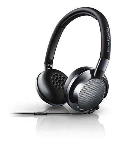 Foto Philips Fidelio NC1 Cuffie Hi-Fi con Microfono, Hi-Res