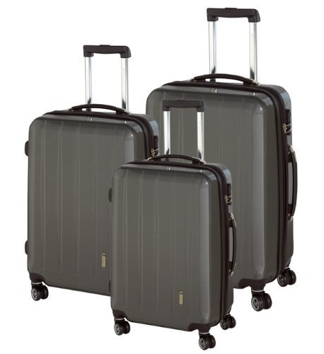CHECK.IN London 4-Rollen Trolley-Set 3tlg.