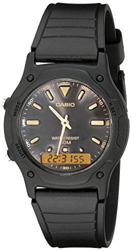 Casio aw49he-1av - orologio da polso da uomo, cinturino in resina