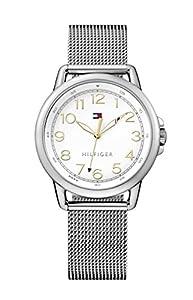 Tommy Hilfiger Reloj De Pulsera de Mujer analógico de cuarzo, casual, Acero inoxidable 1781658