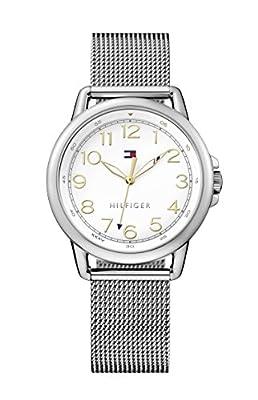 Reloj analógico para mujer Tommy Hilfiger 1781658, mecanismo de cuarzo, diseño clásico, correa de acero inoxidable.