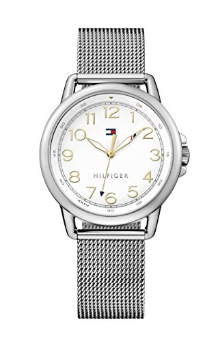 tommy-hilfiger-casey-womens-quartz-watch-with-white-dial-analogue-display-and-silver-stainless-steel