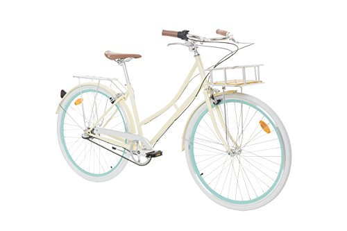 Fabric City Comfort Bike with Basket- Ladies Duth Style 28