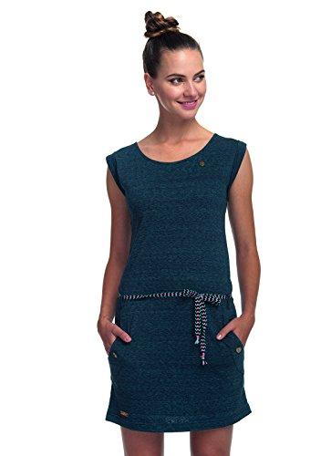 Ragwear Damen Jerseykleid Navy Stripe
