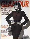 GLAMOUR [No 36] du 01/09/1991 - MODE DE LA RENTREE - SAM SHEPARD PAR JULIE DELPY - ISABELLE PATISSIER A MELBOURNE.