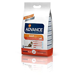 ADVANCE Adult salmon and rice dry food cat, pack of 1 (1 x 3 kg) 6