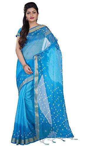 Rajnandini Cotton Saree (Joplsrs1024C_Blue)
