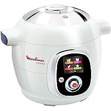 Moulinex Cookeo CE704110 - Robot de Cocina, alta Presión, 6 Modos Cocción, Programable