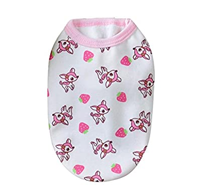 Ularma Winter Cotton Dog Clothes Milk Chihuahua Small Puppy Pet Clothes