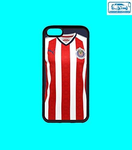 Fußball Teams Bumper Case iPhone 6Plus/6S Plus, Chivas Jersey 2018 (Jersey Chivas)