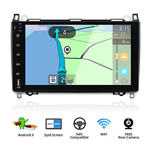 Android 9.0 Autoradio 2 DIN Compatible para Benz Viano/Sprinter/Freightliner Sprinter/W906 Unidades principales...
