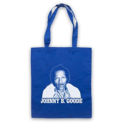 Inspiriert durch Chuck Berry Johnny B Goode Inoffiziell Umhangetaschen Blau
