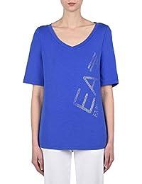 Emporio Armani - T-shirt - Femme bleu DAZZLING BLUE