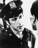 AL PACINO AS OFFICER FRANK SERPICO FROM SERPICO #1 - Photo cinématographique en noir et blanc- AFFICHE - 60x50cm