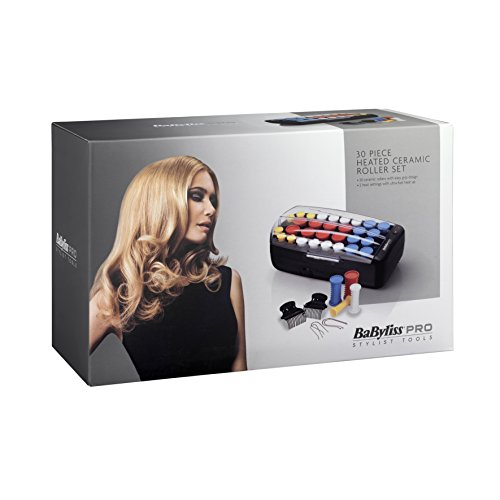 heated ceramic roller - 41kL1AES2YL - BaByliss Pro Heated Ceramic Roller Set – Pack of 30 Pieces