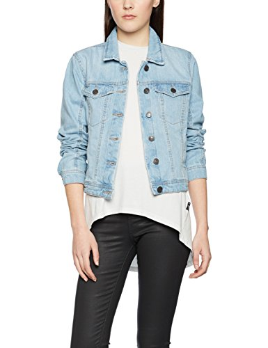 VERO MODA Damen Jacke Vmdanger LS Denim Jacket LT BL Noos, Blau (Light Blue Denim), 42 (XL)