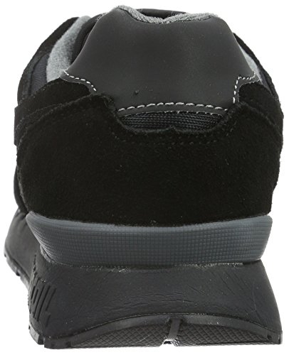 KangaROOS Unisex-Erwachsene Omnicoil II Low-Top Schwarz (black/dk grey 522)