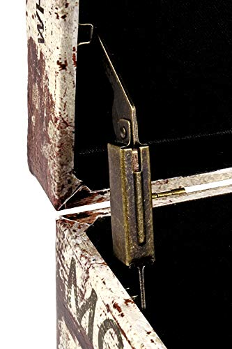 HAKU Möbel Sitztruhe vintage_2, 65x40x42cm - 3