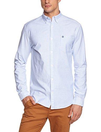SELECTED HOMME Herren Regular Fit Freizeithemd, Gr. Large, blau (Air Blue)