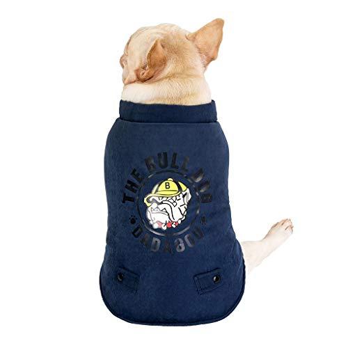 Niedliche Zebra Kostüm - Haustier Hund Warm Mantel, Hawkimin Jacke Kleidung für Kleine Mittlere Große Hund Katze Winter Niedlich Haustierkleidung Hundekleidung Hundebekleidung Hundekostüm Welpenmantel Wintermantel Winterjacke