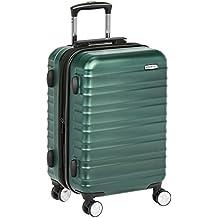 AmazonBasics - Maleta de mano rígida de alta calidad, con ruedas y cerradura TSA incorporada