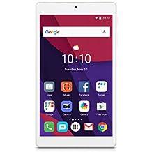 """ALCATEL PIXI 4 8063 - Tablet, Pantalla de 7"""" 1024x600 Wi-Fi 802.11b/g/n BT 4.0 2MPx 8GB ROM 1GB RAM, blanco"""