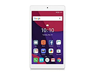 "Alcatel Pixi 4 8063 - Tablet de 7"" HD (WiFi/LTE, Procesador QuadCore 1.3GHz, 1 GB de RAM, 8 GB de memoria interna, Andoird 6.0); Blanca (B01MSOVLIS) | Amazon Products"