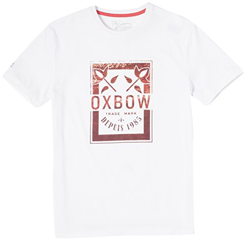 Oxbow k1ternego ternego Tee Shirt Maniche Corte Uomo bianco