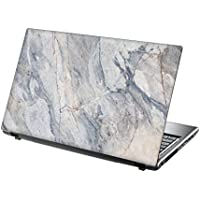 TaylorHe 15.6 inch 15 inch Laptop Skin Vinyl Decal with Colorful Patterns and Leather Effect Laminate MADE IN England Marble Texture