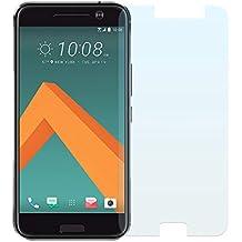 Cristal Templado Protector de Pantalla Para HTC 10 - NEVEQ® Vidrio Templado, el HTC 10 (5.2) Pulgadas de Pantalla con Garantía de por Vida, piel Protectora de la Cubierta de 9H de Dureza.