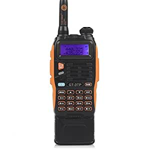 Baofeng GT-3 TP Mark III Talkie-Walkies 3800 mAh Batterie Radio Amateur Radio UHF/VHF 8 W Double Bande Talkie Walkie PMR
