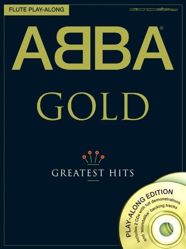 Preisvergleich Produktbild ABBA GOLD - Greatest Hits - Flute Play-Along - Flöte Noten [Musiknoten]