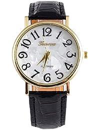 joyliveCY - Relojes de pulsera, de vestir, para mujer, esfera redonda con números