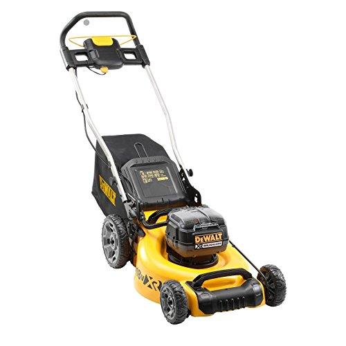 DeWALT DCMW564N Push lawn mower Black,Yellow Battery - Cortacésped (Push lawn mower, 800 m², 48 cm, 2.5 cm, 8.6 cm, Rotary blades)