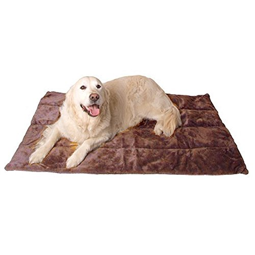 Hundedecke Carpet de Luxe - Braun 122 x 80 cm